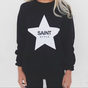 Ell and Emm Saint Style Sweatshirt